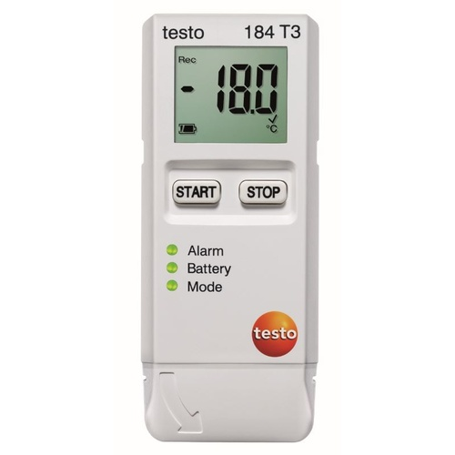 Testo 184 T3 (-35 to 70°C, unlimited)